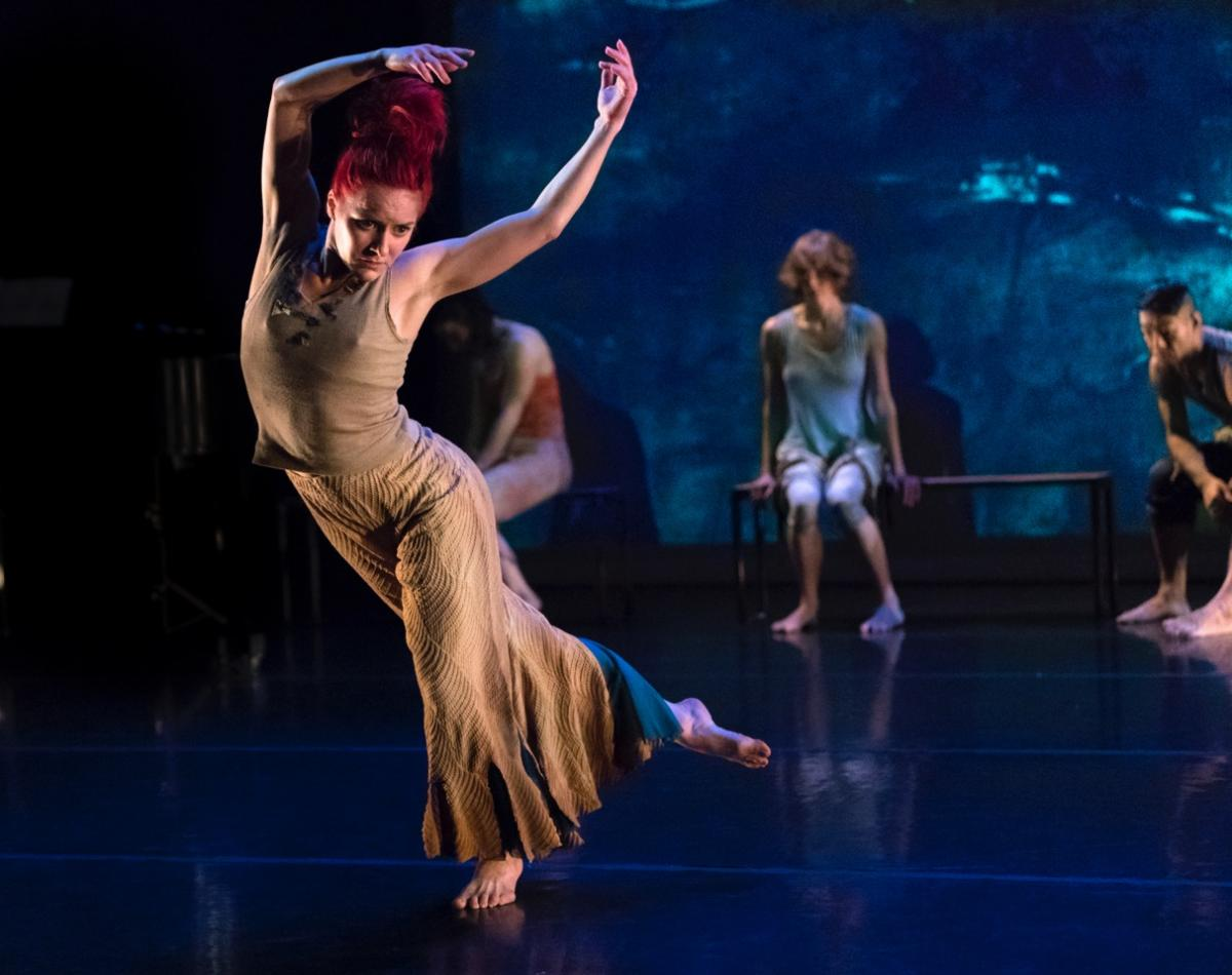 Sonsherée Giles - Memory/Place - Nancy Karp + Dancers