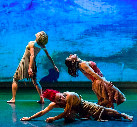 Sonsherée Giles, Amy Lewis, and Janet Collard - Memory/Place - Nancy Karp + Dancers