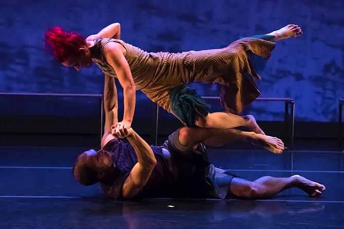 Sonsherée Giles & Sebastian Grubb - Memory/Place - Nancy Karp + Dancers